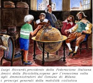 Gigi Riccardi disegno di Aldo Monzeglio_2005