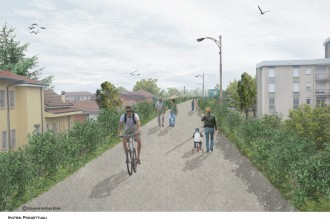 Rendering Green High Line