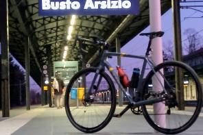 BUSTO ARSIZIO: parcheggio bici protetto alla stazione FS